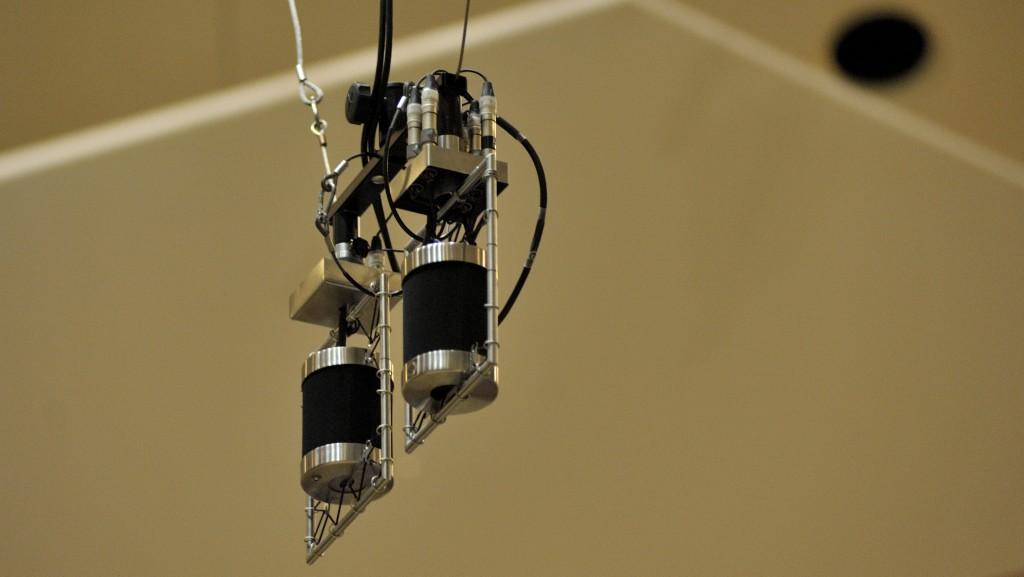 Microfoon dubbel klein