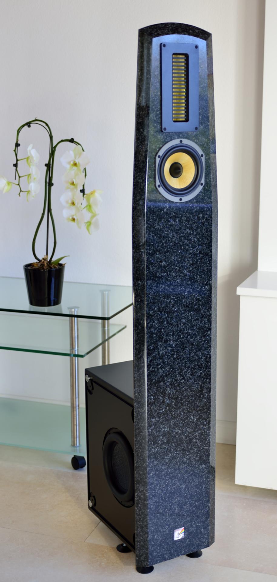 SoundPrism III graniet zwart